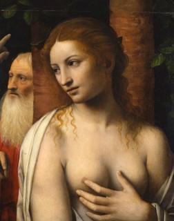 Bernardino Luini Susanna e i vecchioni – 1515-1516